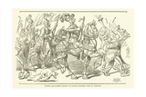 Henry, Proclaimed Regent of France, Entered Paris in Triumph Giclee Print
