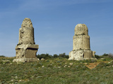 Syria. Amrit or Marathos. Ancient Phoenician City. D Al Maghazil or the Spindles Photographic Print