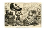 The Great Union Prize Fight, 1861 Giclee Print