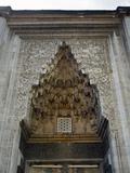 Turkey. Bursa. Yesil Mosque. Ottoman Style. 15th Century. Entrance with MocaRabe Half-Dome Photographic Print