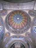 Low Angle View of a Painted Ceiling of a Chapel, Portinari Chapel, Milan, Lombardy, Italy Photographic Print