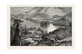 Long Island, Lake George, USA, 1870s Giclee Print
