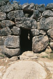 Entrance to Nuraghe Maiori, 2nd Millennium Bc, Tempio Pausania, Sardinia, Italy Photographic Print