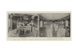 The New Corridor Dining Train on the North-Eastern Railway Giclee Print
