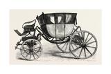 Washington's Coach, USA, 1870s Giclee Print