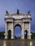 Arch of Peace, 1807-1838, Architect Luigi Cagnola (1762-1833), Simplon Park, Milan, Lombardy, Italy Photographic Print