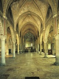 Interiors of a Church, Church of St. Mary of Grace, Milan, Lombardy, Italy Photographic Print