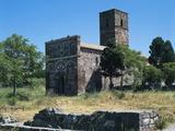 Church of Our Lady of Tergu, 12th Century, Pisan-Romanesque Style, Tergu, Sardinia, Italy Photographic Print