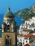 The Bell Tower of Amalfi Cathedral, 11th-17th Century, Campania, Italy Photographic Print