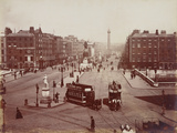 View of O'Connell Bridge and Sackville Street, Dublin, Ireland, Late 19th Century Photographic Print