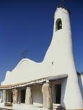 Stella Maris Church, 20th Century, Porto Cervo, Costa Smeralda, Sardinia, Italy Photographic Print