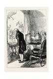 The Installation of George Washington, USA, 1870S Giclee Print