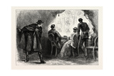 Assassination of President Lincoln, USA, 1870s Giclee Print