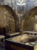Syria. Bosra. Hammab Manshak. Old Public Baths. 14th Century. Ruins. Inside Photographic Print