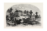 View of Washington's Quarters at Morristown, USA, 1870s Giclee Print