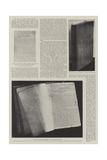 The Log of the Mayflower Giclee Print