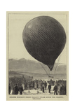 Colonel Burnaby's Recent Balloon Voyage across the Channel, the Start Giclee Print