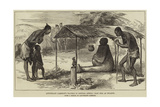 Lieutenant Cameron's Travels in Central Africa, Clay Idol at Bwarwe Giclee Print