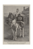 The Drummer and Drum-Horse of the 17th Lancers Giclee Print