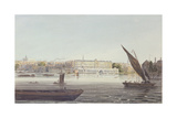 View of the River Front of New Somerset House, from Bankside, 1796 Giclee Print