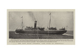 The New Irish Steamer The Duke of Cornwall Giclee Print