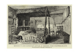 Bedroom in Anne Hathaway's Cottage at Shottery, Near Stratford-On-Avon Giclee Print