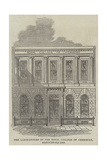 The Laboratories of the Royal College of Chemistry, Hanover-Square Giclee Print