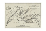 Sketch Plan of Country from the Helmund to Kandahar Giclee Print