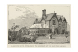 Falmouth House, Newmarket, the Residence of the Late Fred Archer Giclee Print