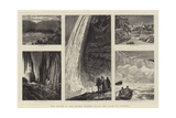 Our Artist in the United States, Vii, at the Falls of Niagara Giclee Print