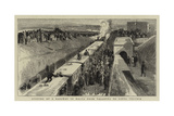Opening of a Railway in Malta from Valletta to Citta Vecchia Giclee Print