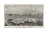 Massowah, on the Red Sea Coast, Occupied by the Italian Troops Giclée-tryk