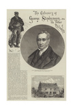 The Century of George Stephenson, the Father of the Railways Giclee Print