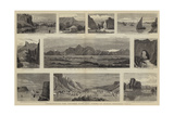 Afghanistan, the Khyber Pass and Views in North Western India Giclee Print