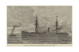 Troop-Ships for the Zulu War Reinforcements, the Dublin Castle Giclee Print
