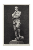 The New Statue of the Late General Gordon in Trafalgar Square Giclee Print