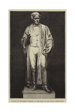 Statue of Professor Faraday in the Hall of the Royal Institution Giclee Print