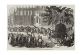 Removal of the Bell for the Great Clock of Westminster Palace Giclee Print
