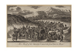 The March of the Grand Caravan from Cairo to Mecca Giclee Print