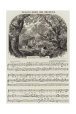 English Songs and Melodies, Farewell to the Woodlands Giclee Print