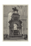 The Wellington Monument in St Paul's Cathedral Giclee Print