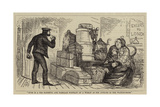 The Burden of Man's Existence; Or, Ladies' Luggage Giclee Print
