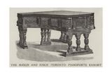 The Mason and Risch (Toronto) Pianoforte Exhibit Giclee Print