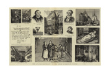 The Quater-Centenary of the Birth of Martin Luther Giclée-tryk