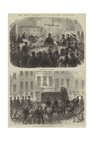 The Fenian Prisoners at the Bow-Street Police Court Giclee Print