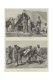 An Indian Army Camp of Exercise in the Madras Presidency Giclee Print