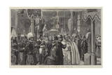 Exhibition in the Vatican of the Pope's Jubilee Gifts Giclee Print