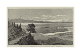 With the Mediterranean Fleet, Entering Corfu Harbour Giclée-tryk