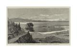 With the Mediterranean Fleet, Entering Corfu Harbour Giclee Print