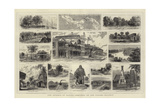 The Isthmus of Darien, Sketches on the Panama Railway Giclee Print